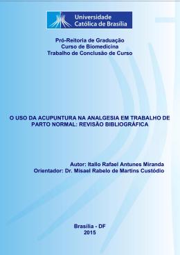 Itallo Rafael Antunes Miranda - Universidade Católica de Brasília