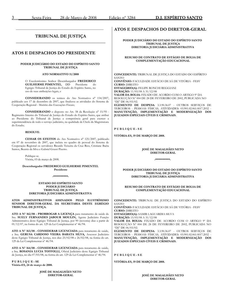 e35f7af894cfd Word Pro - 28032008.lwp - Tribunal de Justiça do Espírito Santo