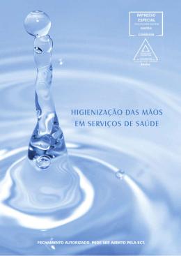 Higienização das mãos em serviços de saúde