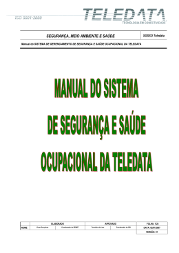 Manual do SGSSO