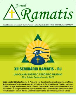 Edição 60 - Sociedade Espírita Ramatis