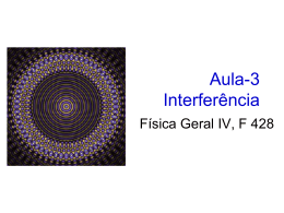 Aula-3 Interferência