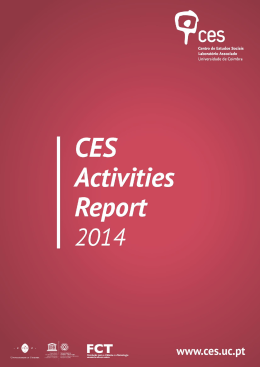 CES Activities Report 2014 1. Introduction