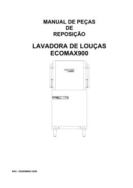 manual de pecas ecomax 900