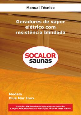 8. Instalação - Socalor Saunas