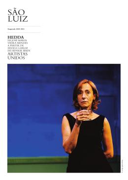 hedda - São Luiz Teatro Municipal