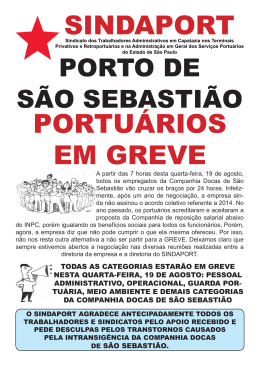 Boletim Porto de São Sebastião.indd