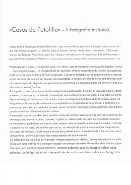 (Cosos de Fotofi lio> - A Fotogrofio inclusivo