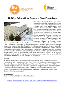 ILSC – Education Group – San Francisco
