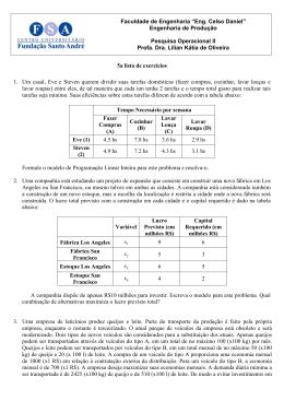 "Faculdade de Engenharia ""Eng. Celso Daniel"" Engenharia de"