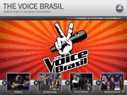 THE VOICE BRASIL - Comercial Rede Globo