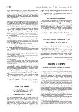 Despacho n.º 21028/2009