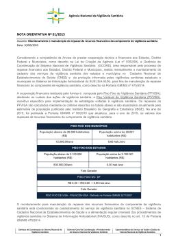 NOTA ORIENTATIVA Nº 01/2015