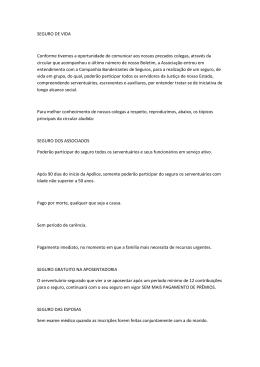 SEGURO DE VIDA, Companhia Bandeirantes de Seguros