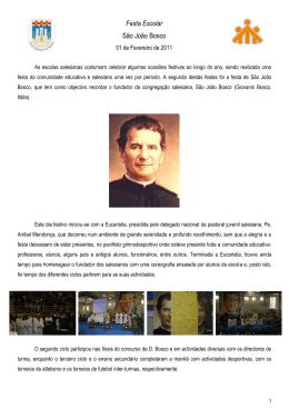 Festa Escolar - São João Bosco File