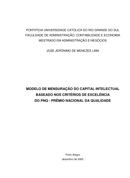 modelo de mensuração do capital intelectual baseado