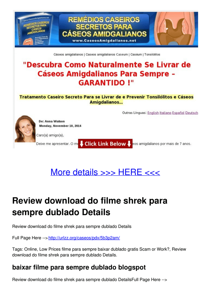 SEMPRE FILME PARA BAIXAR SHREK DUBLADO PARA