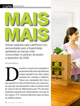 estudo realizado pela Latinpanel com exclusividade para a