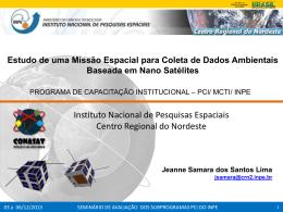 Bolsista: Jeanne Samara dos Santos Lima