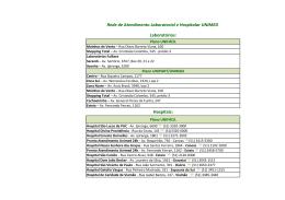 Rede de Atendimento Laboratorial e Hospitalar UNIMED