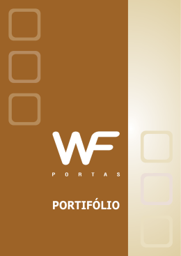 PORTIFÓLIO - WF Portas