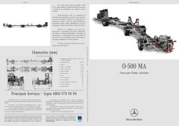 Folheto O-500 M (5/04)