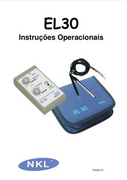 Instruções Operacionais - Nkl Produtos Eletrônicos