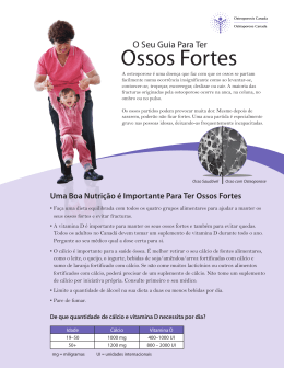 Ossos Fortes - Osteoporosis Canada