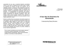Understanding eating disorders (Portuguese)