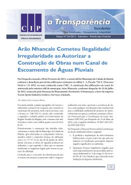 CMM  - CIP - Centro de Integridade Publica