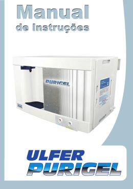 Manual Purigel - Ulfer Purificadores de Água