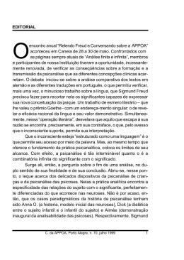 Correio nº 70 - APPOA - Associação Psicanalítica de Porto Alegre