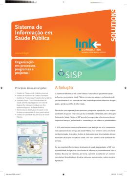 Sistema de Informação em Saúde Pública