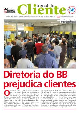 Jornal do Cliente - Sindicato dos Bancários