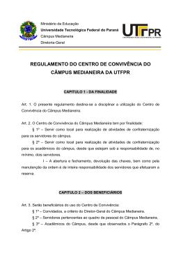 REGULAMENTO CENTRO DE CONVIVENCIA