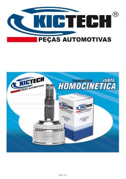 Catálogo Junta Homocinética