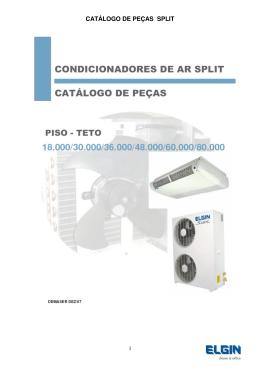 CATÁLOGO DE PEÇAS SPLIT