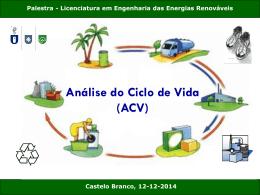 Análise do Ciclo de Vida (ACV)
