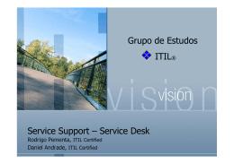 Service Desk Grupo de Estudos ITIL