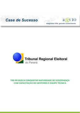 TRE-PR busca maturidade de governança com capacitação
