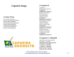 A Capoeira É - Raízes do Brasil Capoeira