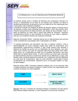 Segundo Chiavenato (2002) - Ambiente Virtual de Aprendizado