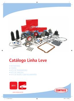 Catálogo Linha Leve