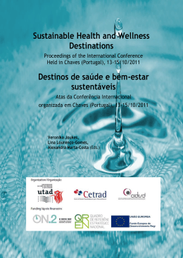 Sustainable Health and Wellness Destinations Destinos
