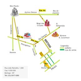 Rua João Ramalho, 1.284 Cep 11250-000 Bertioga