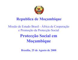 Protecção Social em Moçambique