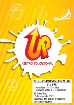 2012 - 3º SIMULADO ENEM - UP