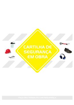 CARTILHA DE SEGURANÇA EM OBRA - Sinduscon