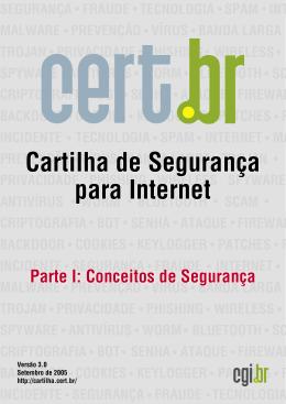 Cartilha de Segurança para Internet -- Versão 3.0
