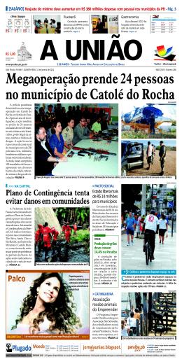 a união - Governo da Paraíba